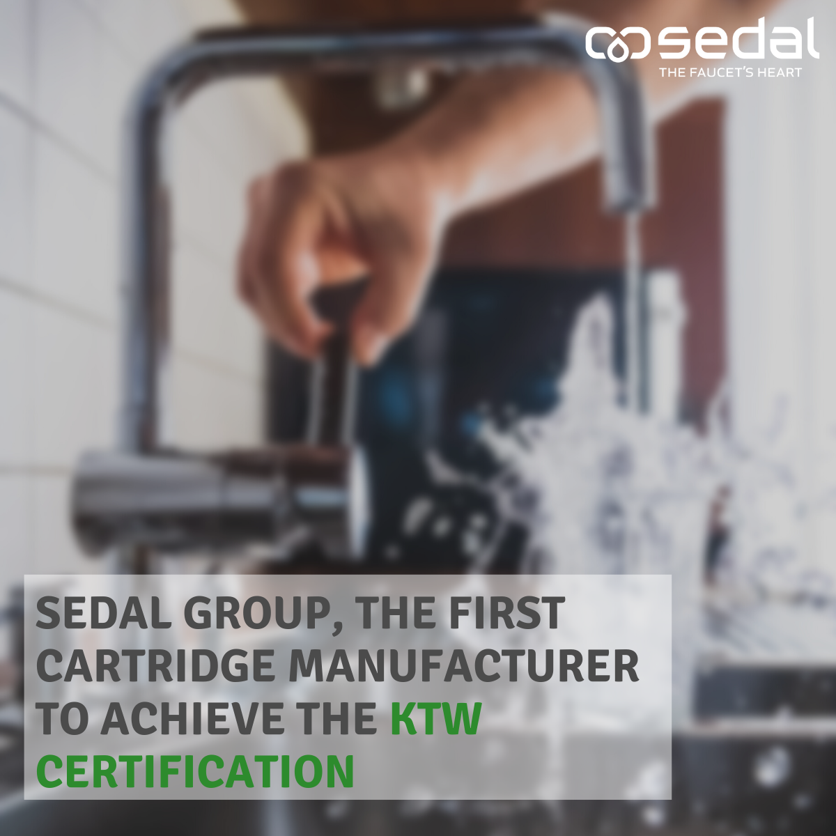 Sedal Group achieves KTW certification