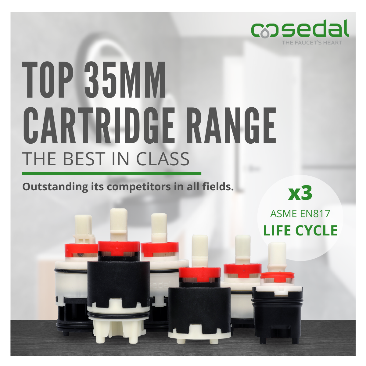 TOP Cartridge Range